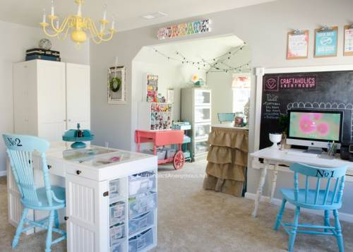 10 Drool Worthy Craft Rooms