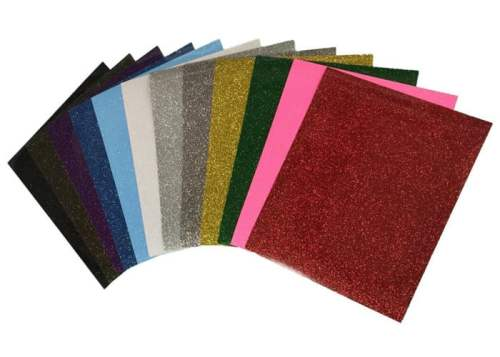 Glitter Vinyl sheets from Siser HTV Vinyl