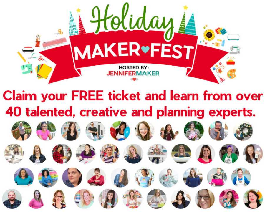 Holiday Maker Fest with over 35 presenters pictures to help you get ready for the holidays.
