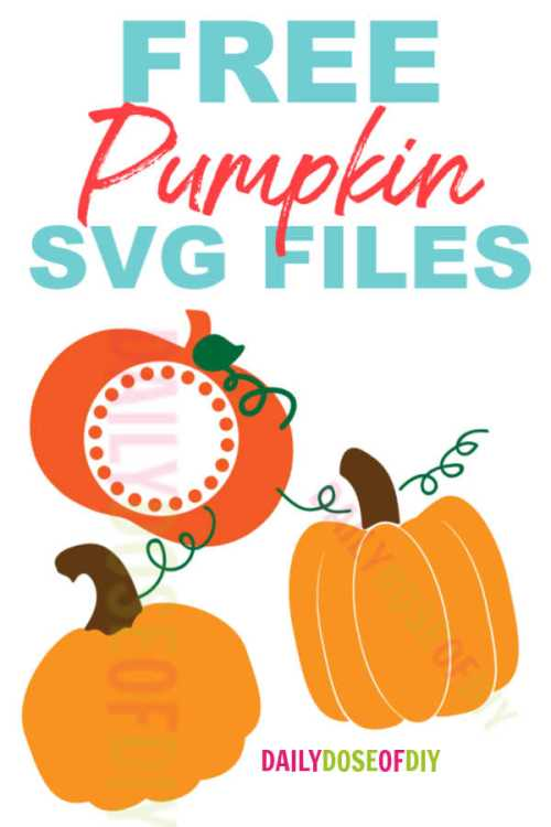 Download Free Pumpkin SVG Cut Files for Cricut and Silhouette ...