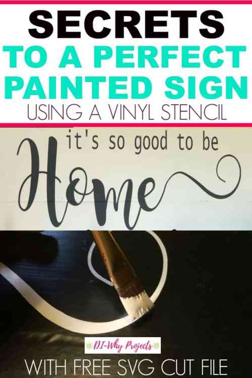 Secrets to the perfect hand painted sign
