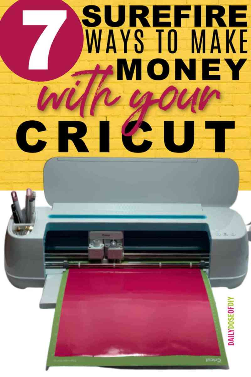 If you're wanting to make money with your Cricut, this article is for you.
