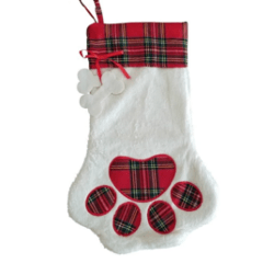 Dog Christmas stocking ready for Christmas Crafts