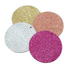 Glitter Ornament acrylic craft blank