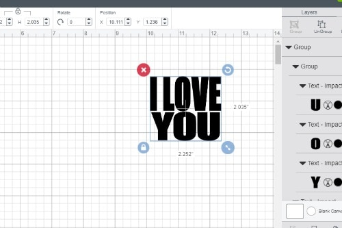 How To Make Knockout Designs in Cricut Design Space - Daily