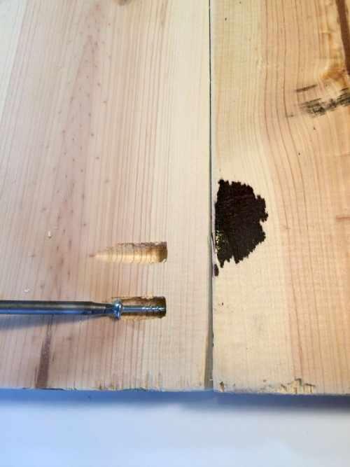 Using Pocket Hole Screws to make a farmhouse coat rack