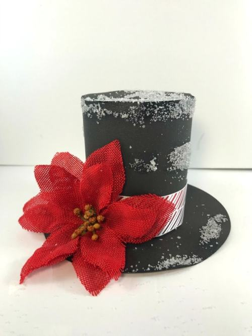 How To Make a Snowman Hat Free Template