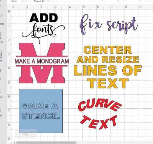 Tips for editing text in cricut design space