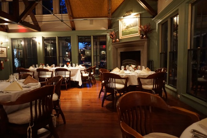 On Friday we ate dinner at a neat golf club called Chechessee. They always prepare a beautiful vegan meal for me. (Sorry, I didn't take a picture!)
