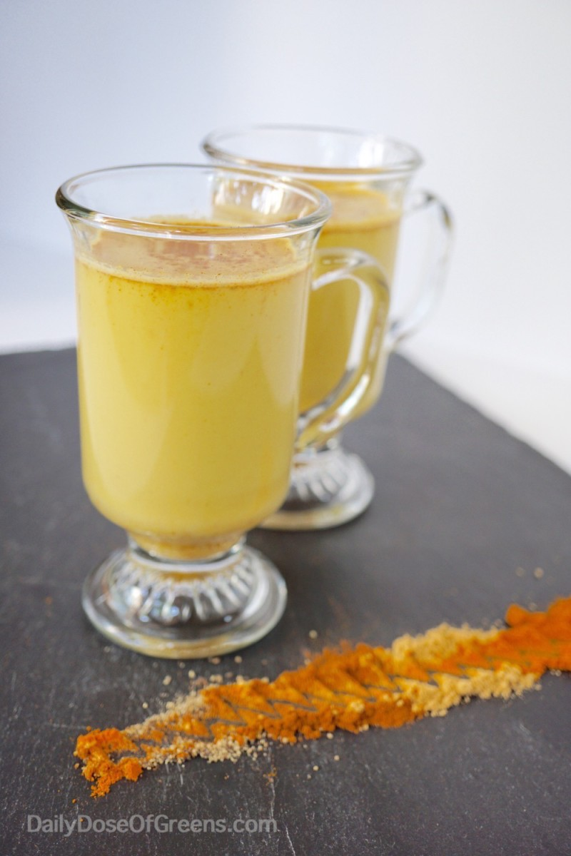 Golden Milk + The Benefits of Turmeric