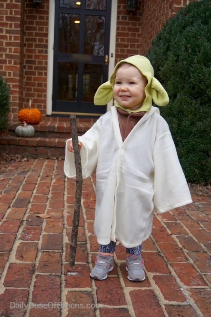 Abby as Yoda