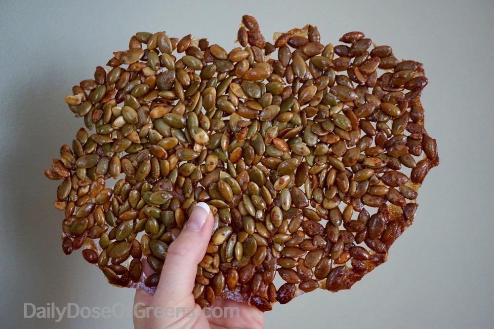 pumpkin seed crackle