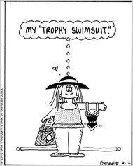 swimsuit cartoon