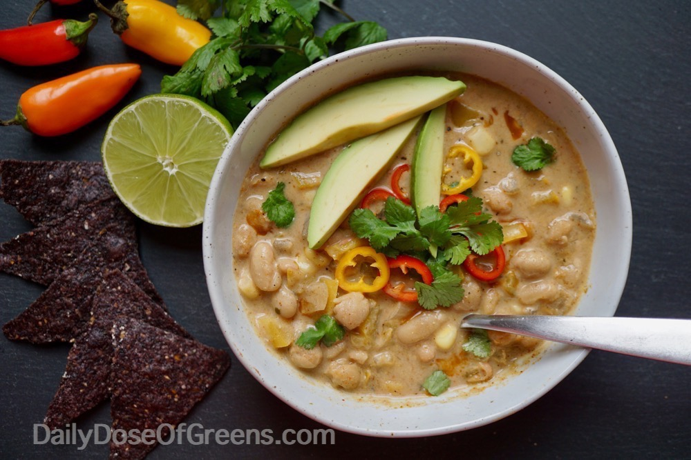 Creamy White Bean Chili