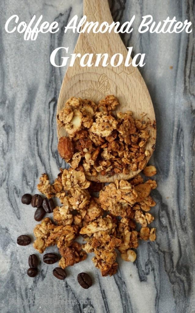 coffee almind granola