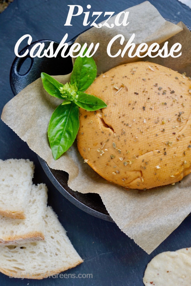 pizza cashew cheese