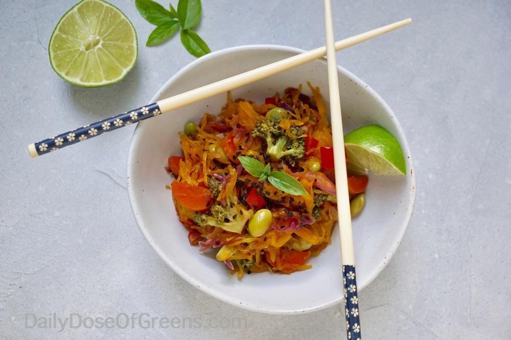 thai spaghetti squash