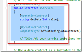 How to select Block of Code in Visual Studio?