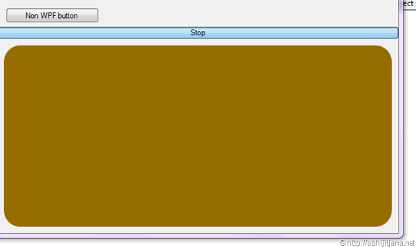 Hosting a WPF control inside a Windows Form - Daily  NET Tips