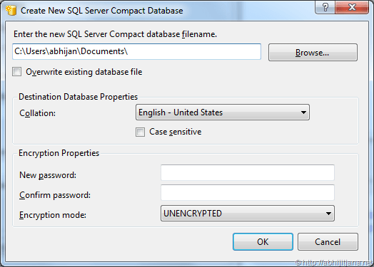 Use Visual Studio Server Explorer to Add New or Existing SQL Server