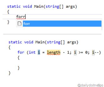 forr_reversefor_codesnippet