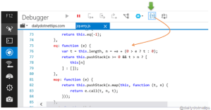Deminify the Minified JavaScript Easily in IE 11