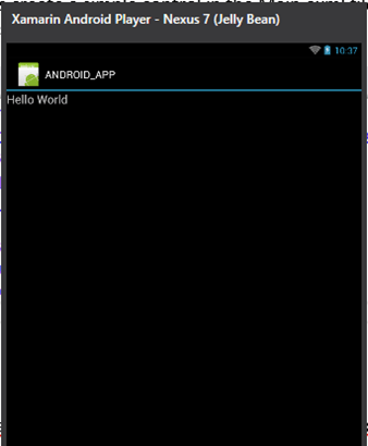 How To Start Building Android App using Xamarin in Visual