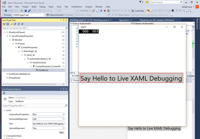 Inspect and Change XAML