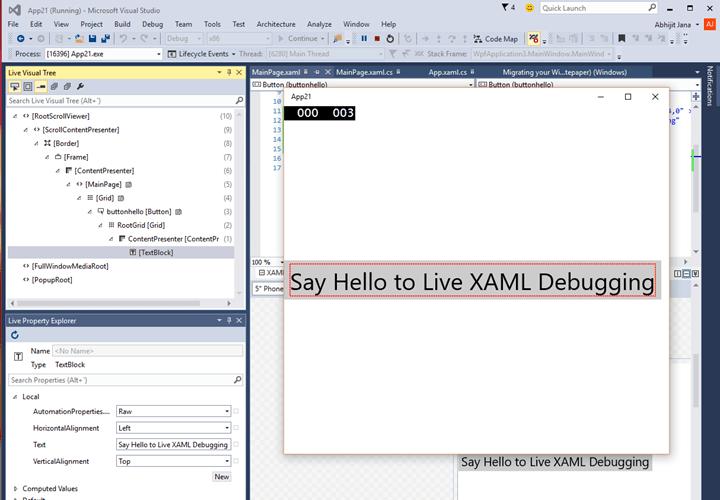Inspect and Change XAML