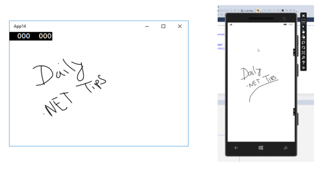 Easy drawing and inking using new InkCanvas Control for Universal