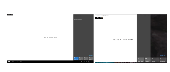 Custom trigger with user interaction mode in Universal Windows App