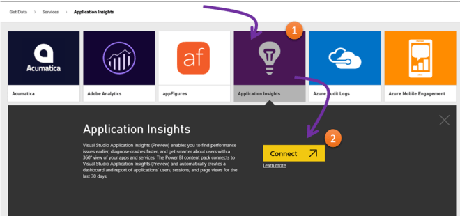 Get your Application Insights data in Power BI – Faster than ever