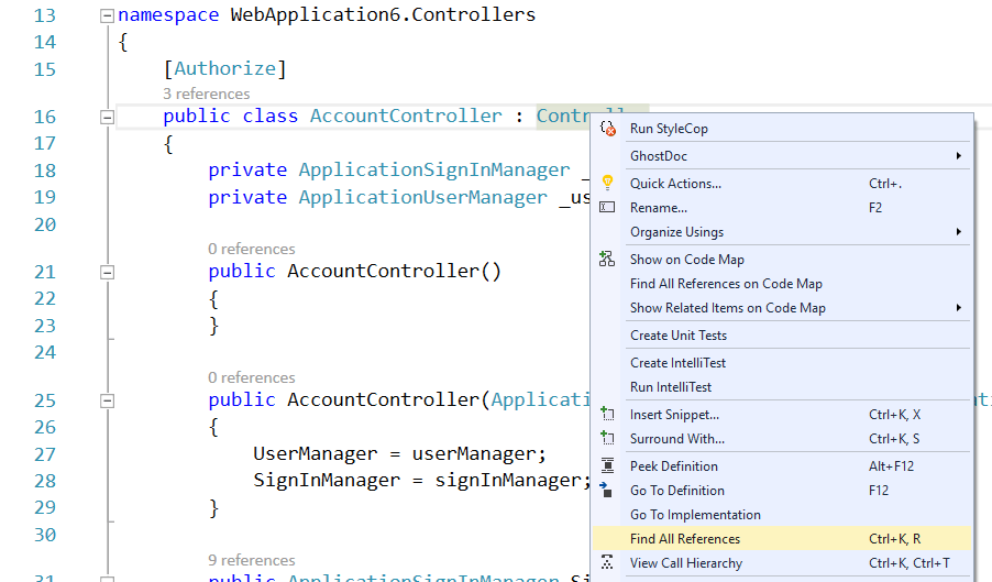 Find Results Vs Find Symbol Results Window In Visual Studio Daily