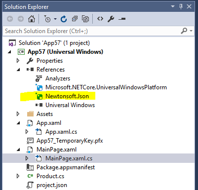 Quickly add a reference to a NuGet packages in Visual Studio