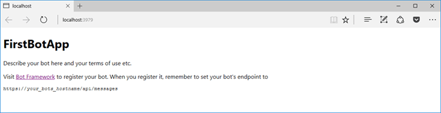 Bot Application - Running