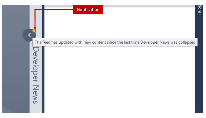 Developer News Updated Notification