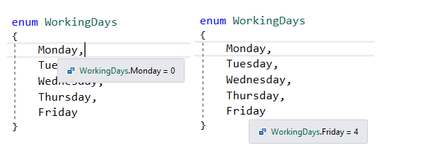 How to iterate though an enumeration (Enum) in C# ?