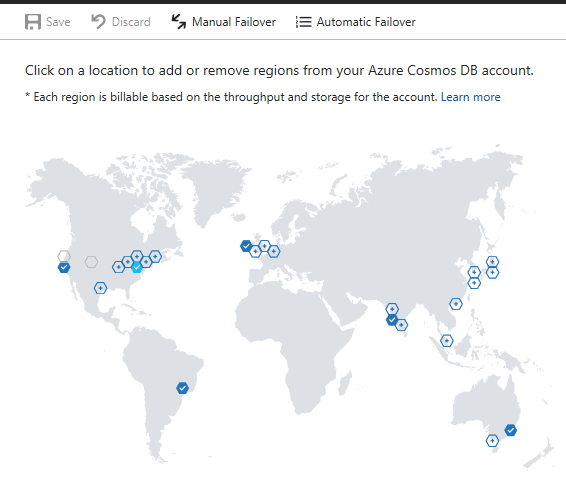 Azure Cosmos DB Geo-Replication Completed