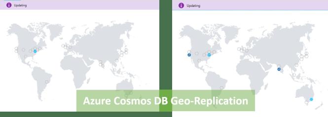 Cosmos DB Geo-Replication In Process