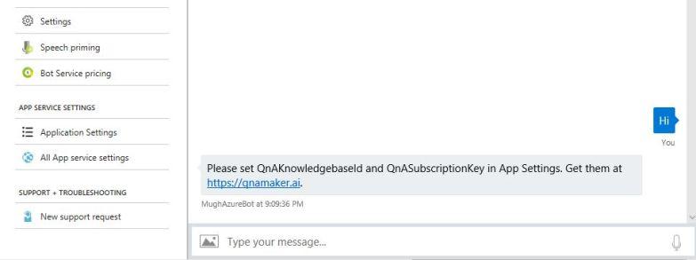 Get QnA Maker Keys