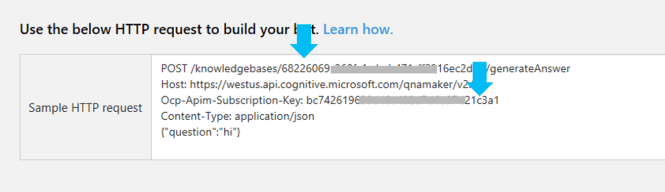 Getting the API Key for QnA Maker