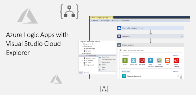 Azure Logic Apps with Visual Studio Cloud Explorer