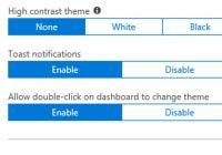 Azure Portal Theme Change