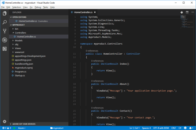 Deploy Azure Web Apps from Visual Studio Code - Web App