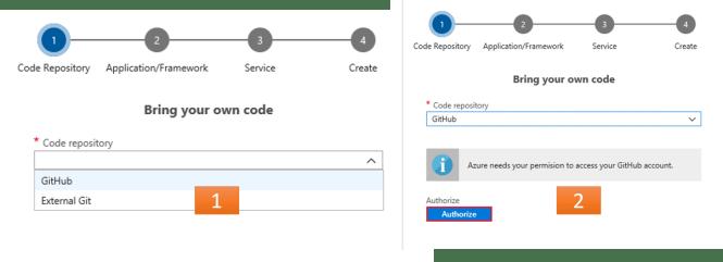 Select Git Hub Account