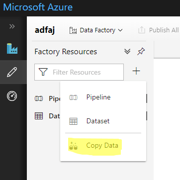 Automatic Azure Data Factory Pipeline Creation - Editing