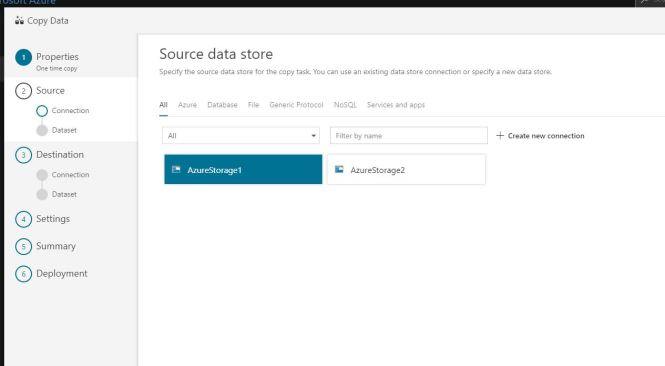 Automatic Azure Data Factory Pipeline Creation using Copy Data Wizard
