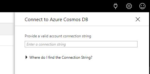 Connect To Azure Cosmos DB Connect