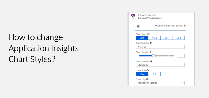 How to change Application Insights Chart Styles - Featured