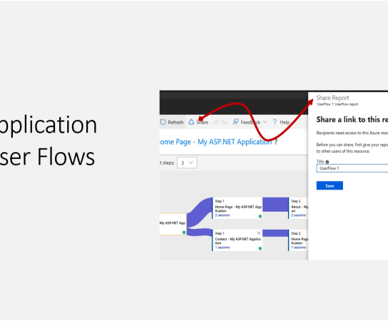 Sharing Application Insights User Flows
